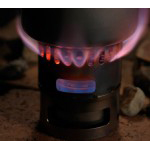 Evernew Ti DX Set EBY255 - Stove (EBY254) + Pot Stand/Windshield (EBY257)